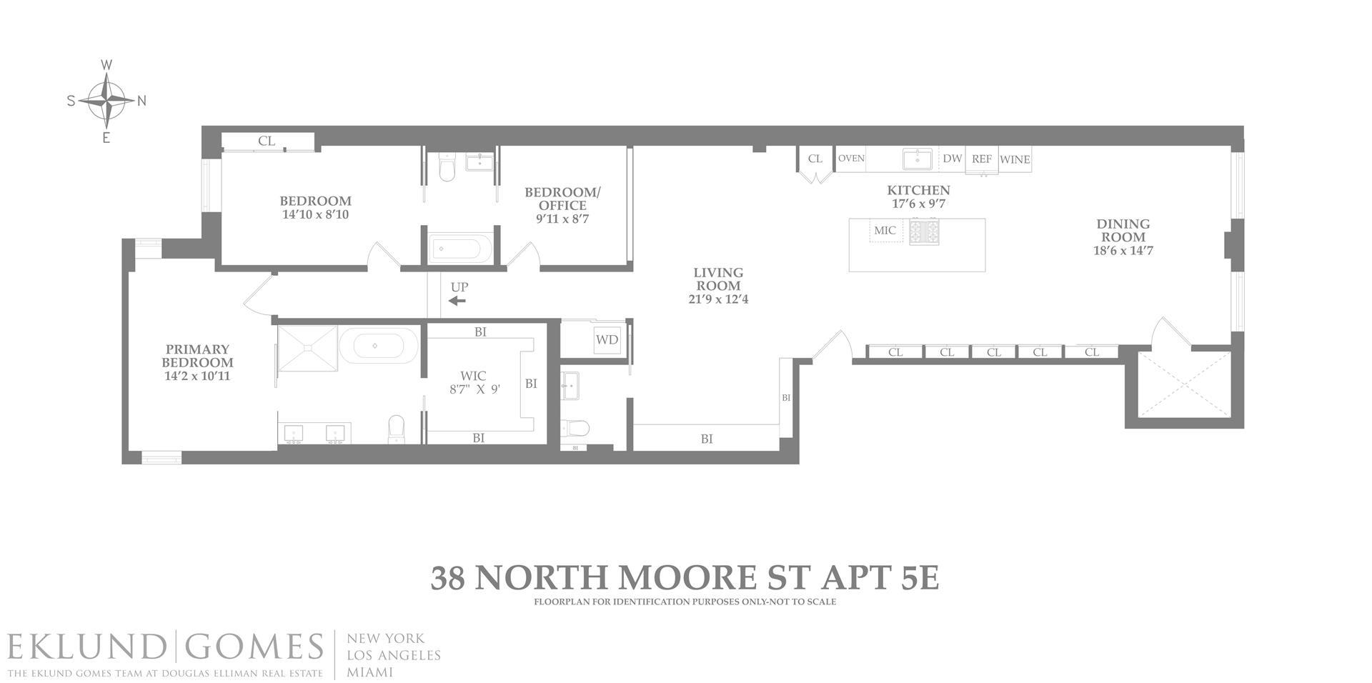 38 North Moore Street Tribeca New York NY 10013