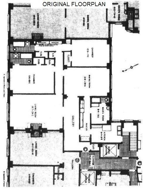 Floor plan of 1070 PK AV CORP, 1070 Park Avenue, 12C - Carnegie Hill, New York