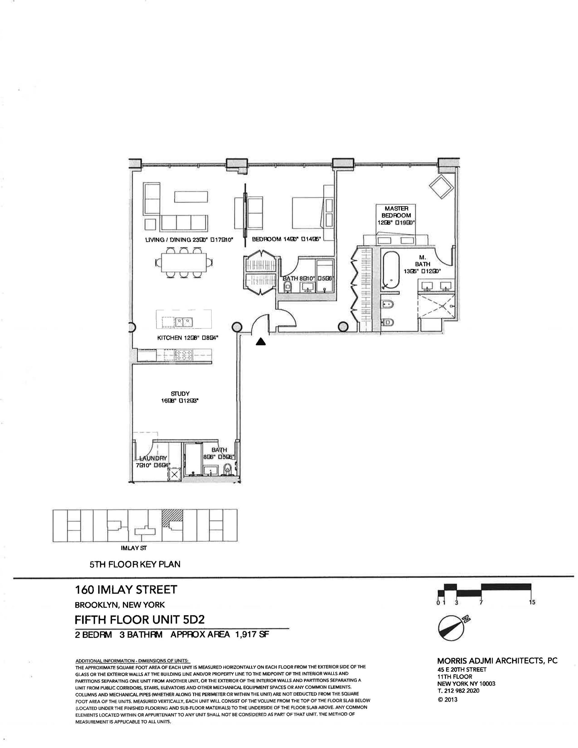 Floor plan of The New York Dock Building, 160 Imlay St, 5D2 - Red Hook, New York