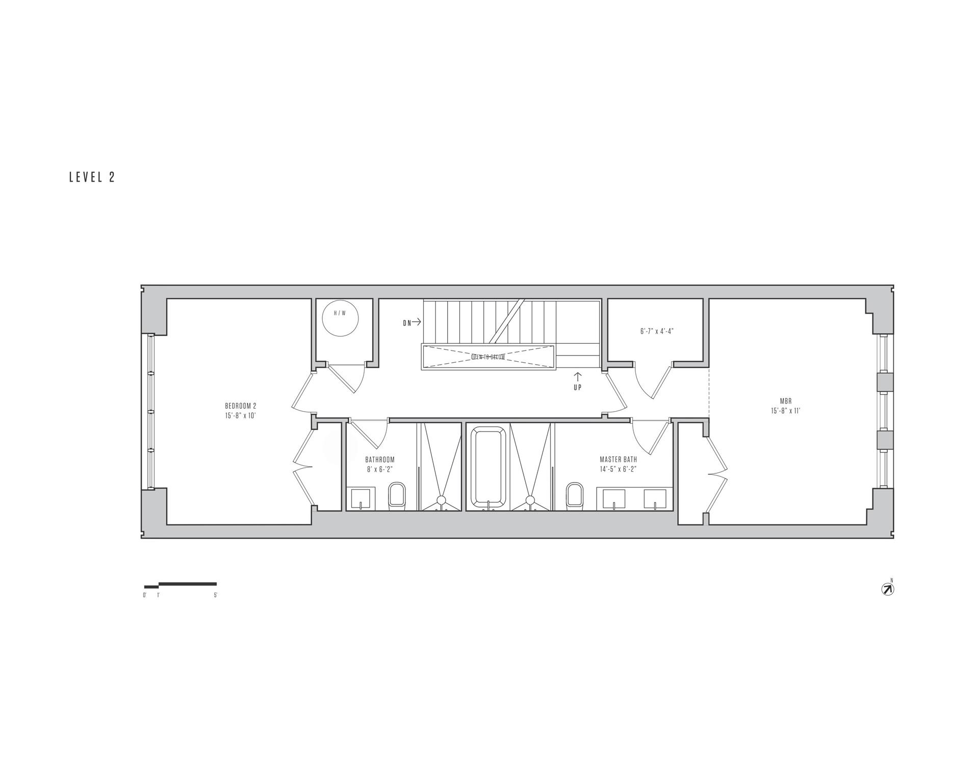 Floor plan of 115A King St - Red Hook, New York