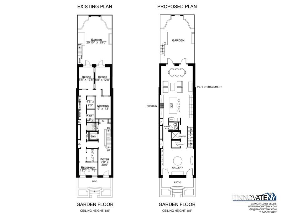 Floor plan of 174 East 64th St - Upper East Side, New York