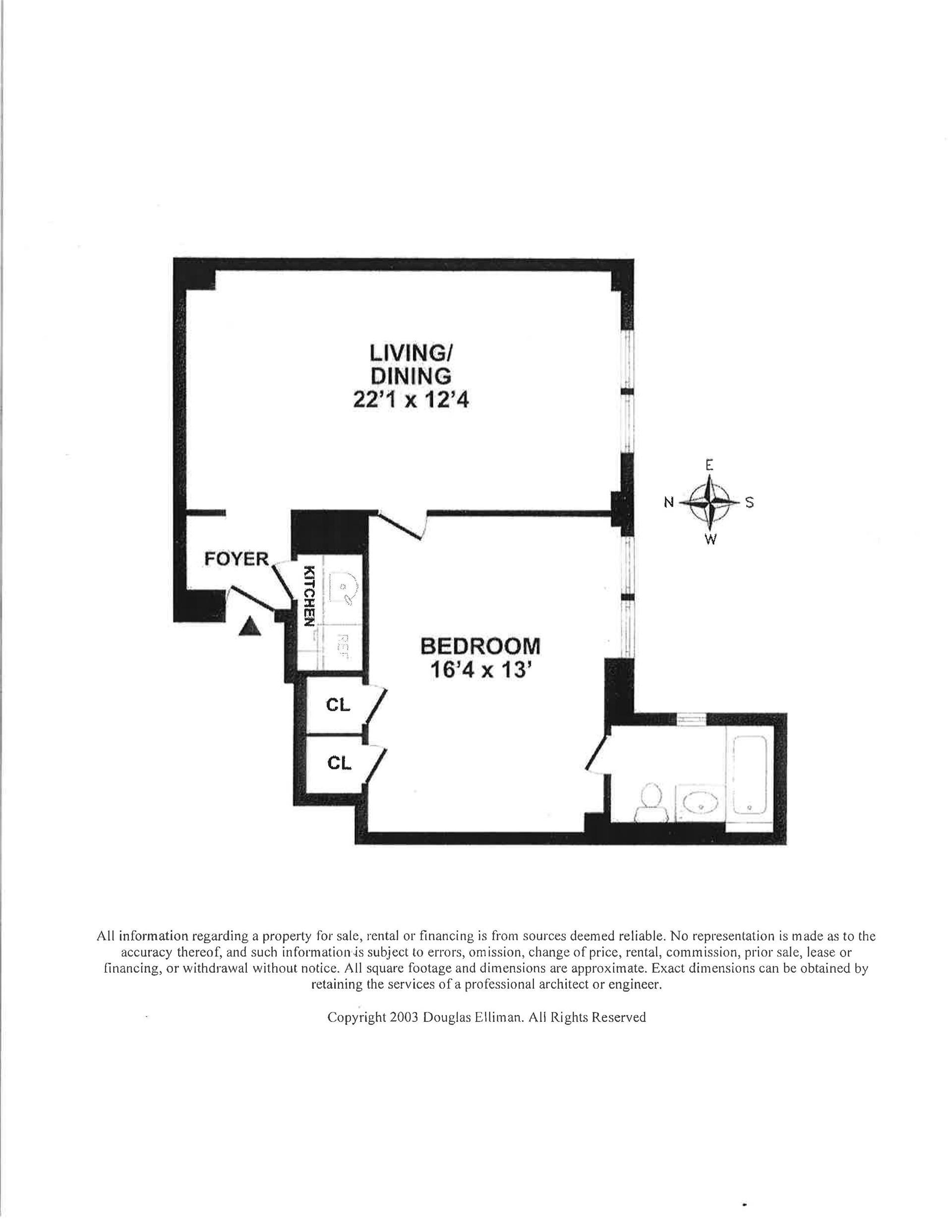 Floor plan of THE BEEKMAN, 575 Park Avenue, 1205 - Upper East Side, New York