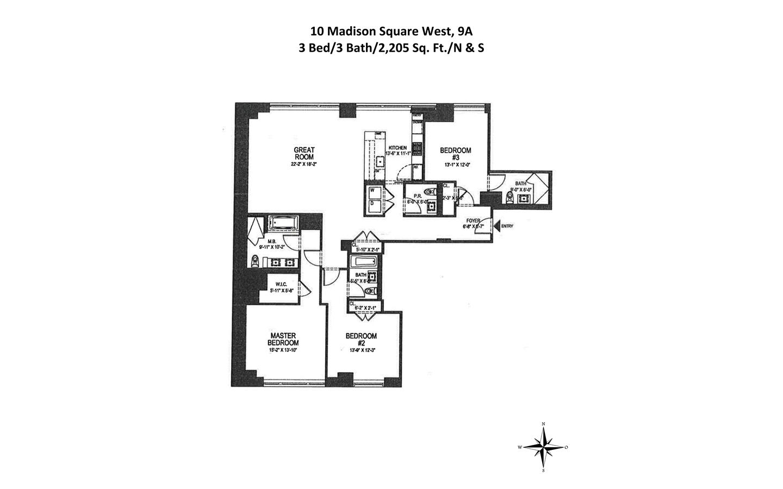 Greiner maltz real estate commercial industrial retail for 10 madison square west floor plans