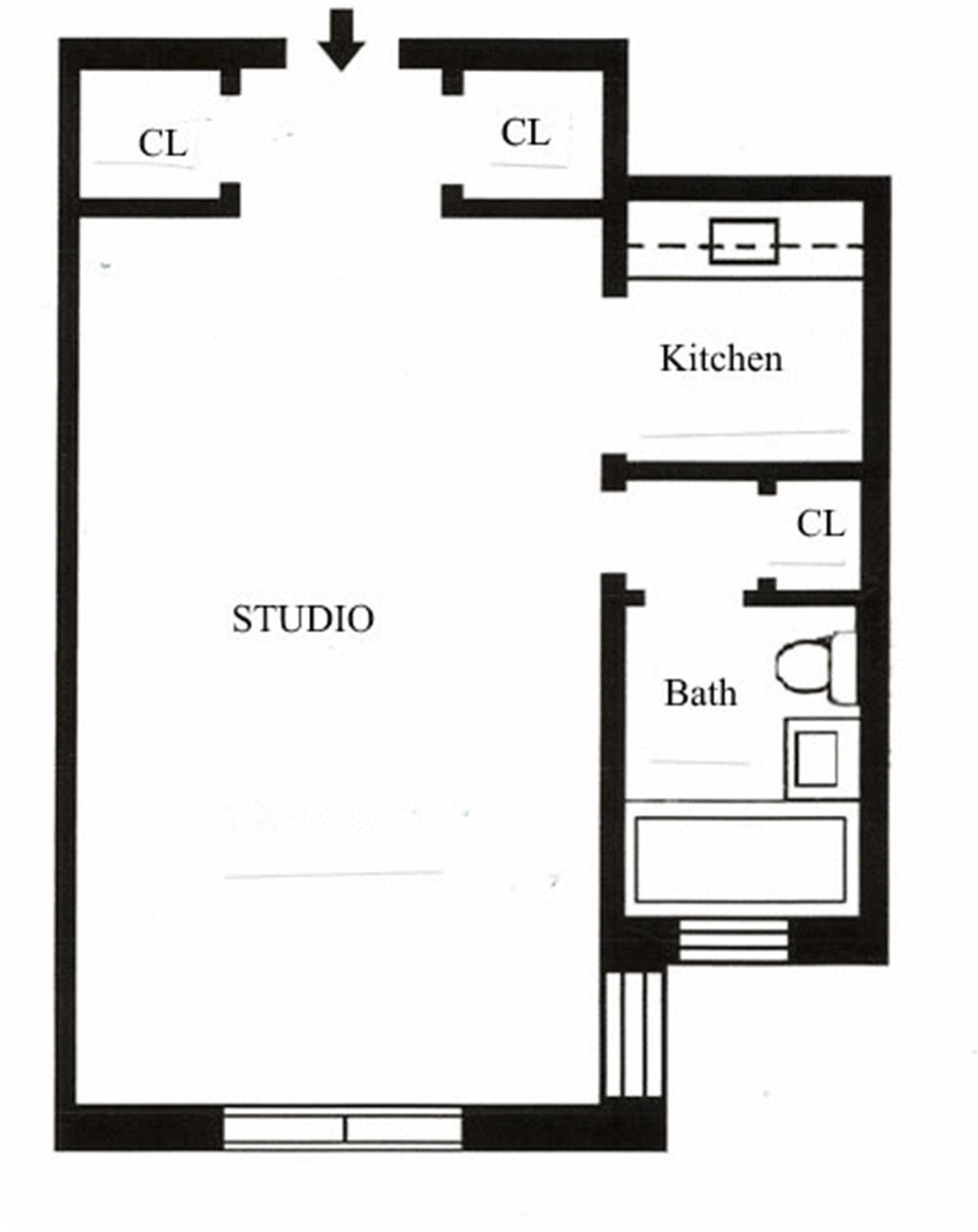Floor plan of 218-05 Grand Central Pkwy - Hollis Hills, New York
