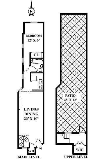 Floor plan of 227 East 87th St, 4C - Upper East Side, New York