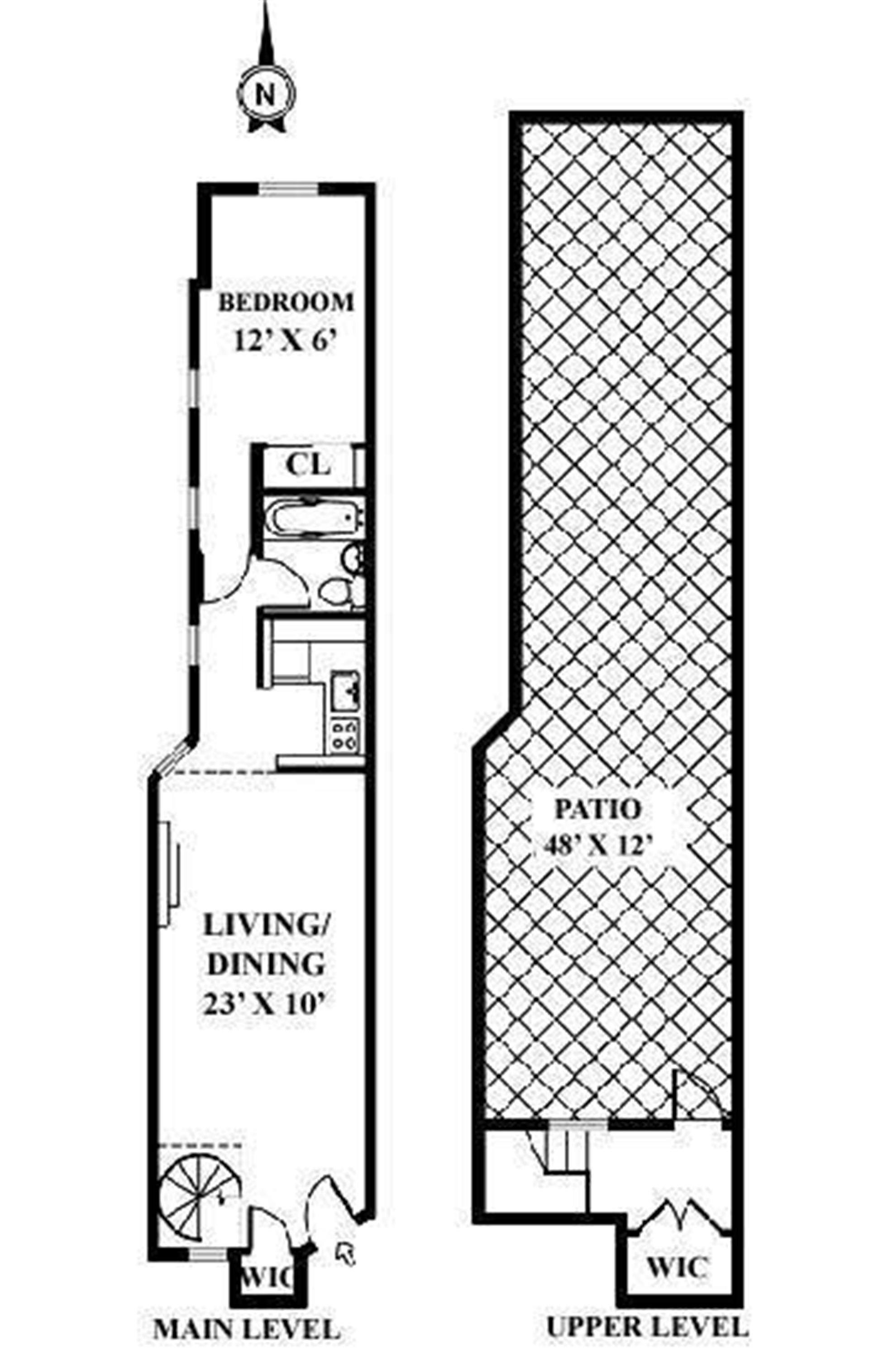 Floor plan of 227 East 87th St, 4C - Upper East Side, New York
