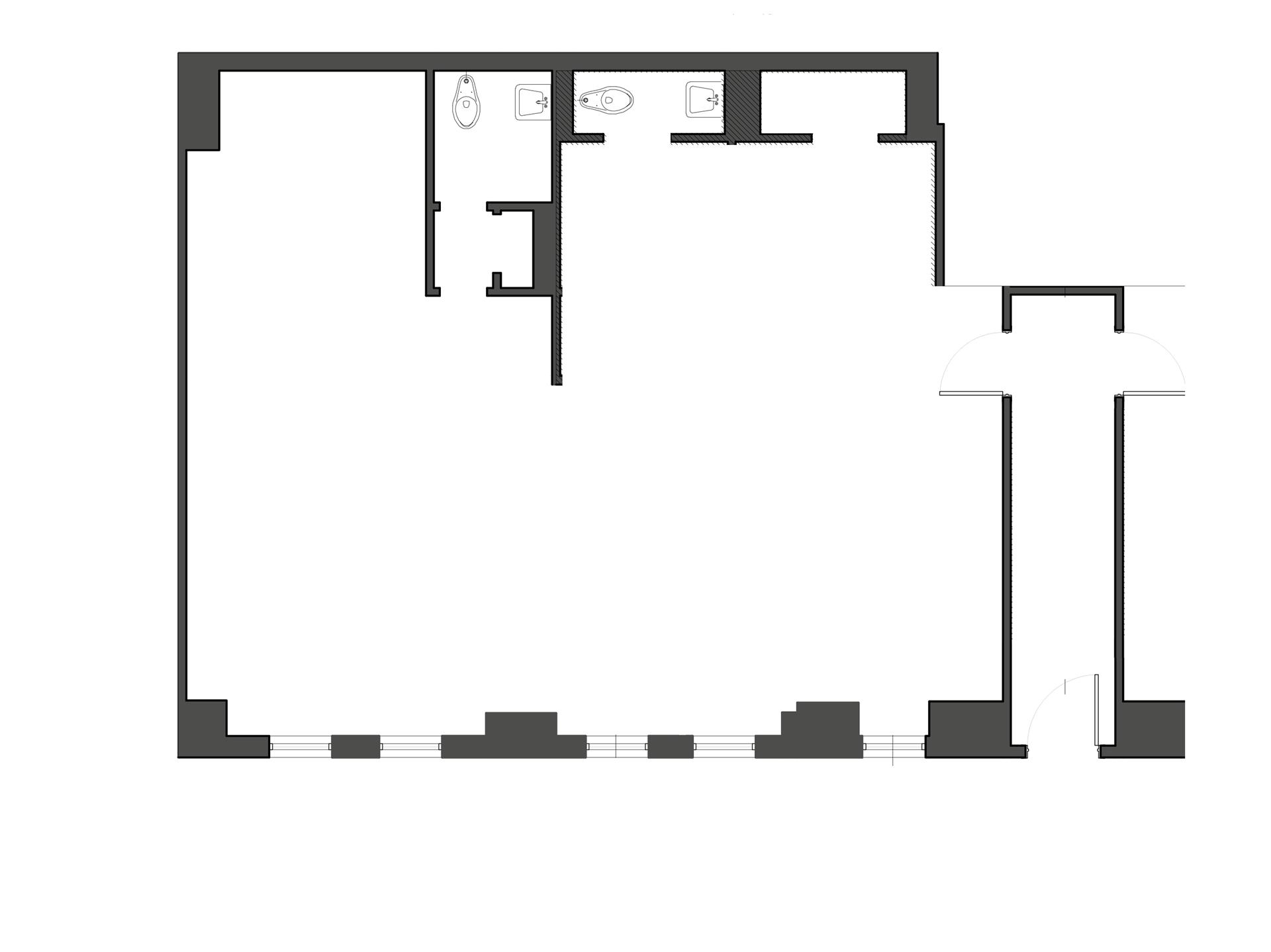 Floor plan of 220 Madison Avenue, RETAILB - Murray Hill, New York