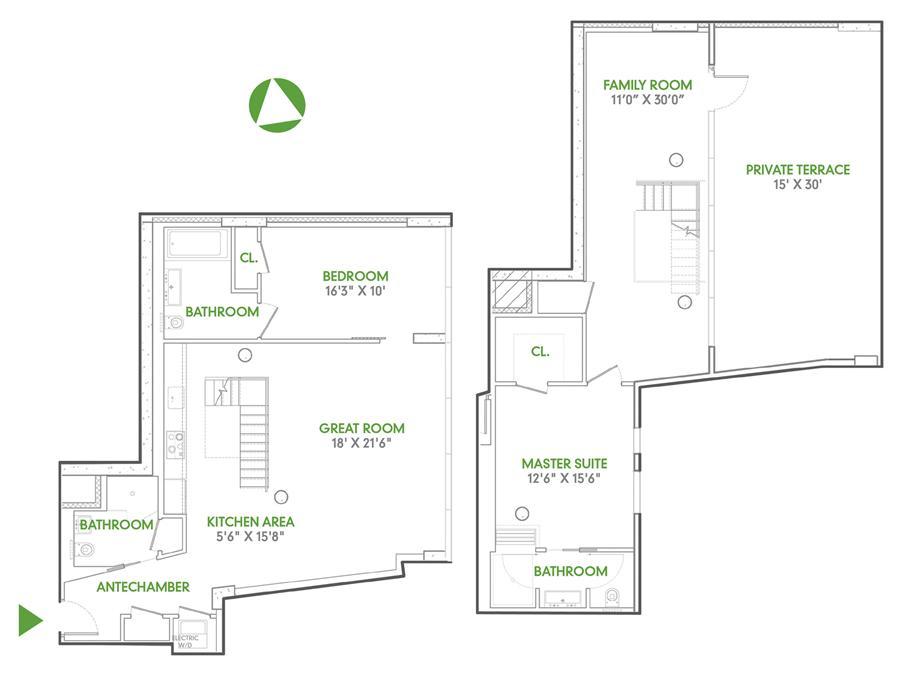 Floor plan of 115 Norfolk Street, PH2