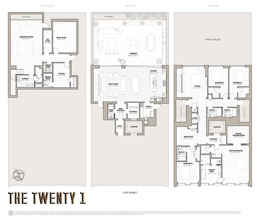 Floor plan of 117 West 21st Street, MAISONETTE - Chelsea, New York