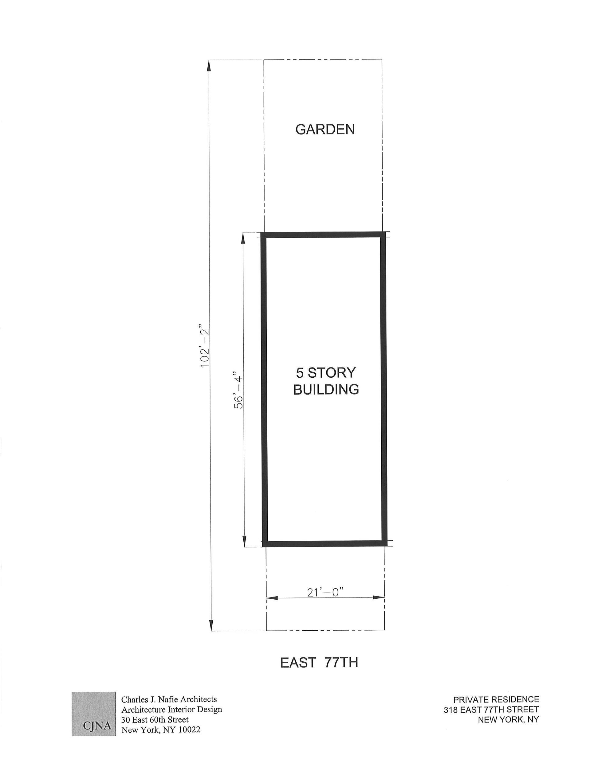 Floor plan of 316-318 East 77th St - Upper East Side, New York