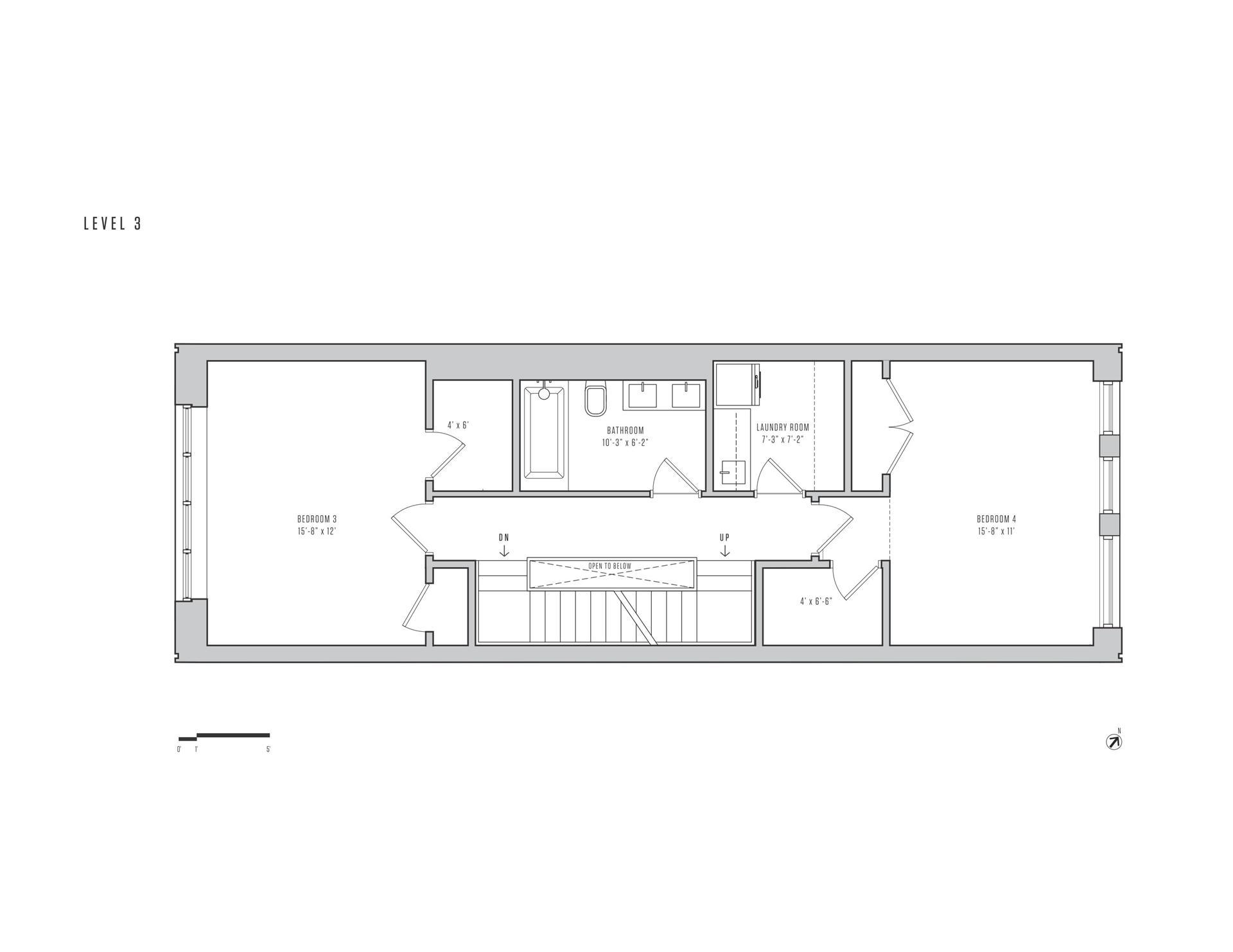 Floor plan of 115 King St - Red Hook, New York
