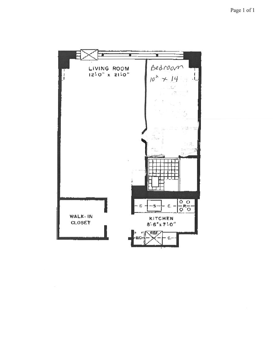 142 West End Avenue 3r Lincoln Center Studio Coop For