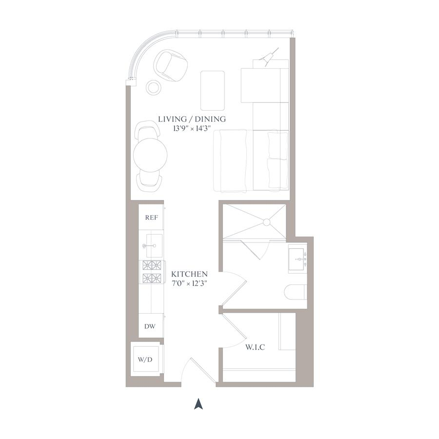 Floor plan of 565 Broome St, N5G - SoHo - Nolita, New York