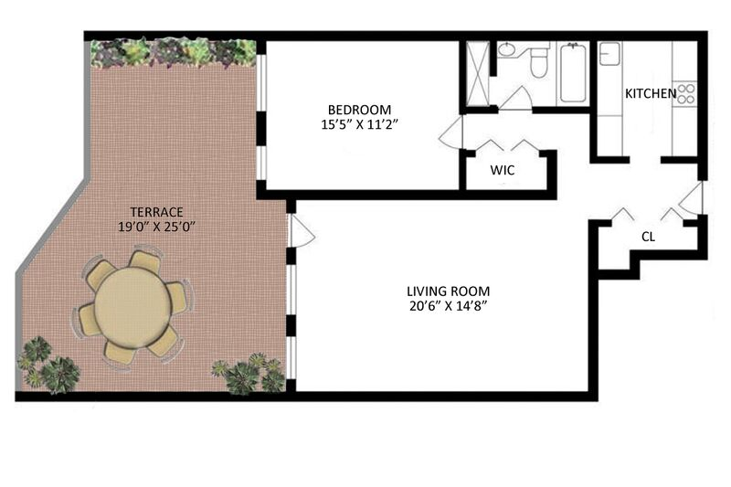 Floor plan of 30 East 85 Street Condominium,, 30 East 85th Street, 3D - Upper East Side, New York