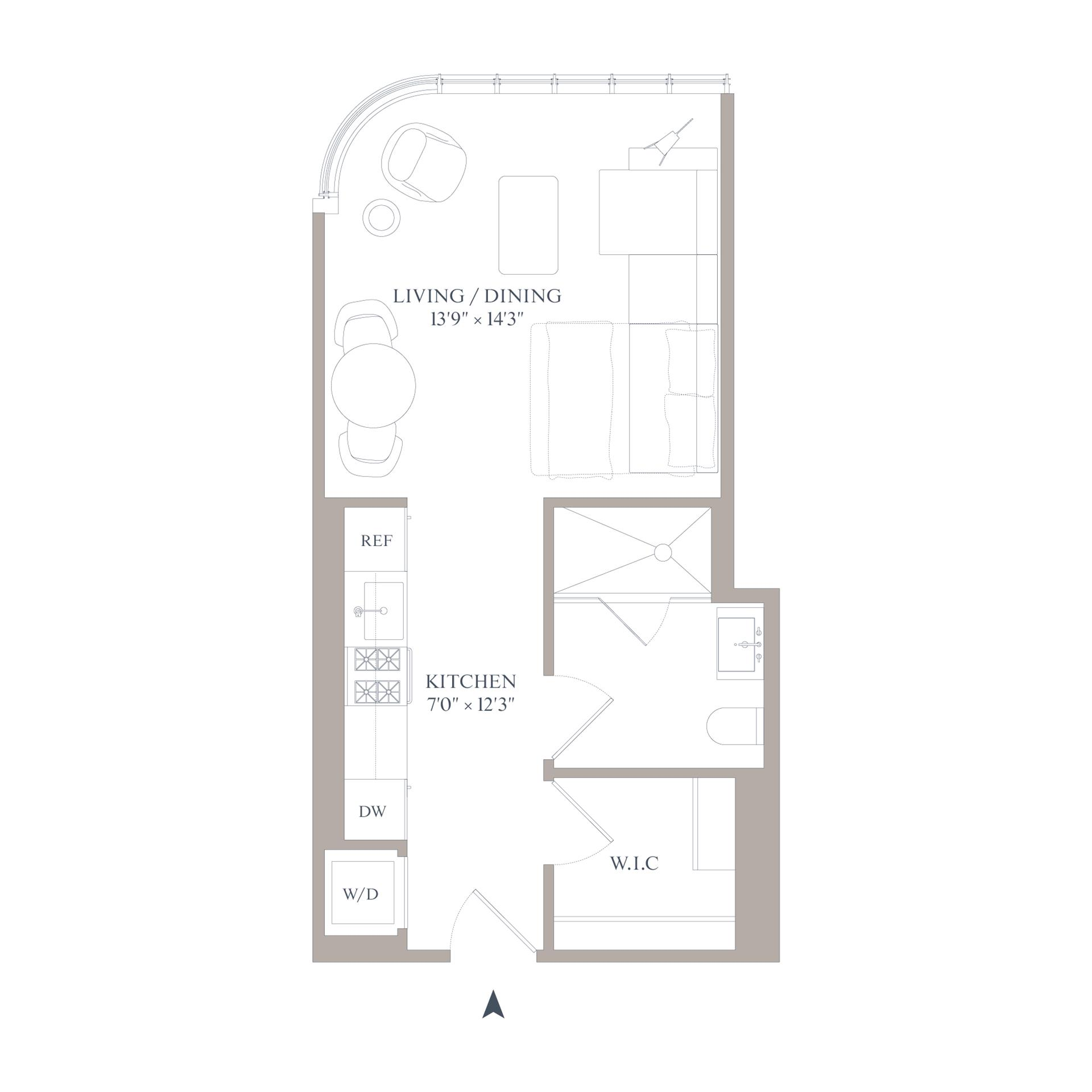 Floor plan of 565 Broome St, N6G - SoHo - Nolita, New York