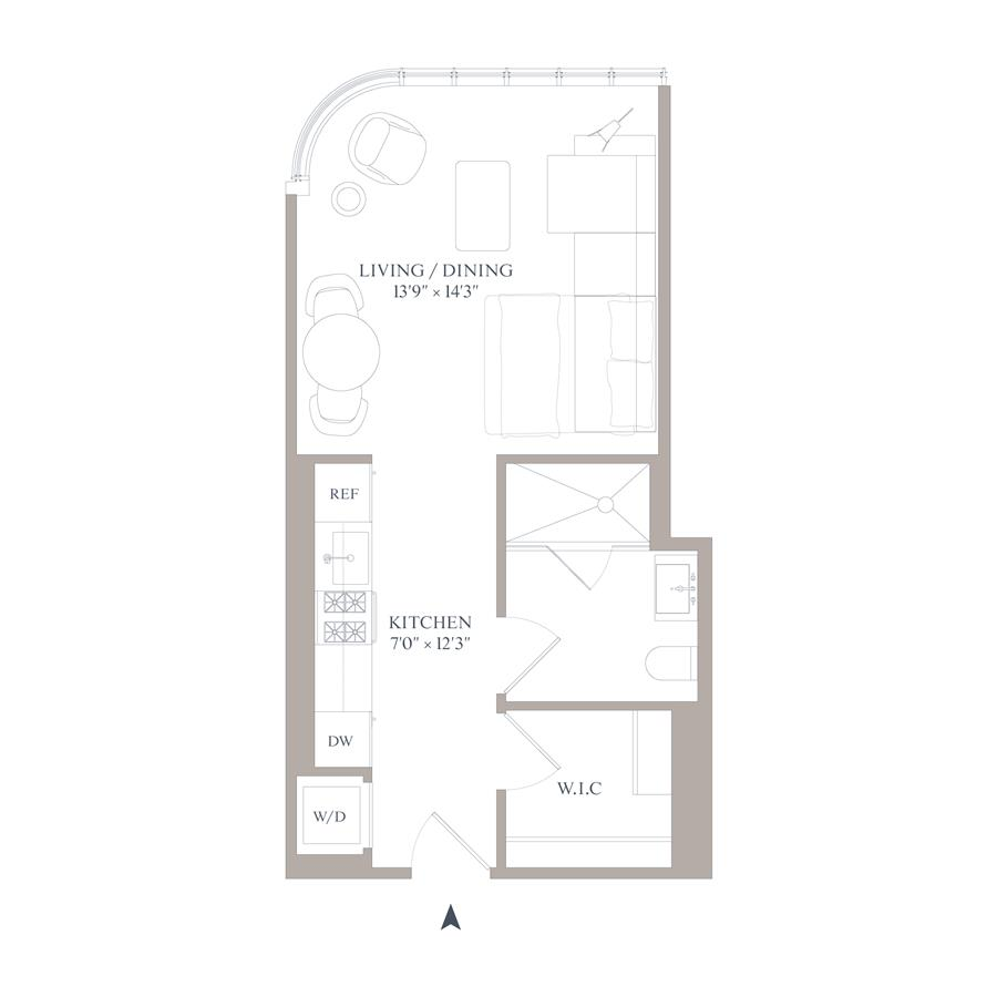 Floor plan of 565 Broome Street, N6G - SoHo - Nolita, New York