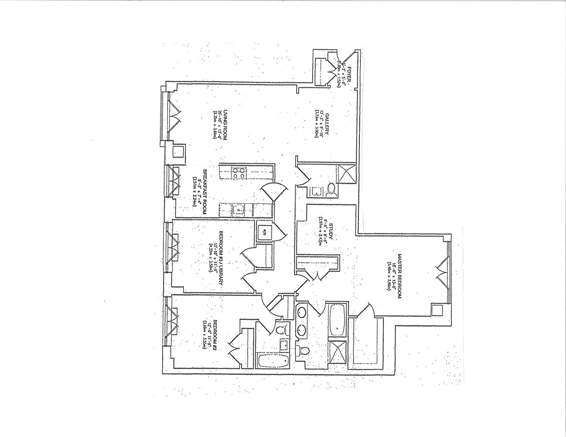 Floor plan of GRAND BEEKMAN, 400 East 51st Street, 5E - Beekman, New York