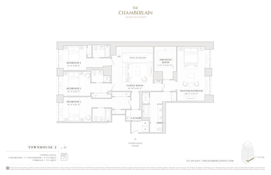 Floor plan of 269 West 87th St, TOWNHOUSE2 - Upper West Side, New York