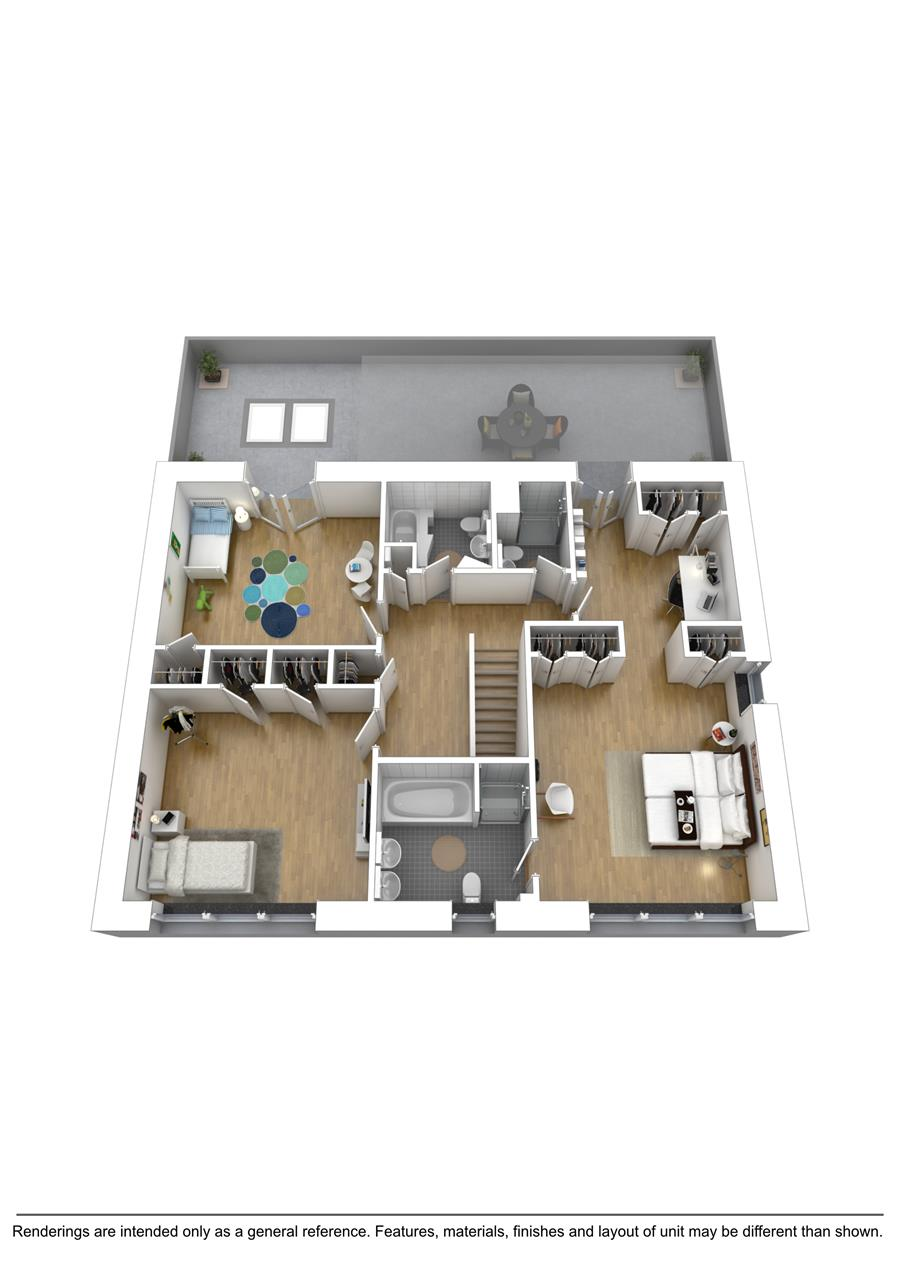 Floor plan of 156 Beach 140th St - Rockaway Beach, New York