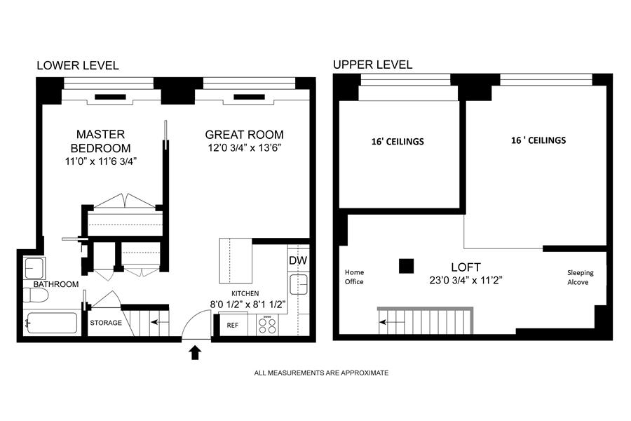 Floor plan of 120 East 87th St, R12I - Carnegie Hill, New York