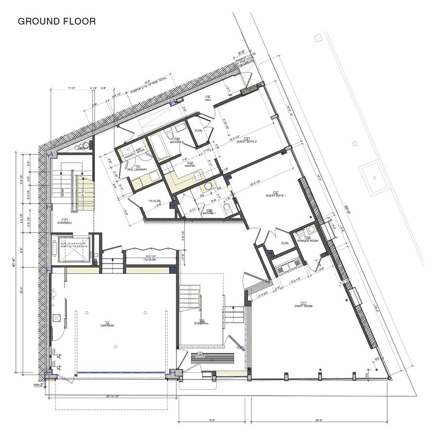 Floor plan of 2 North Moore St - TriBeCa, New York