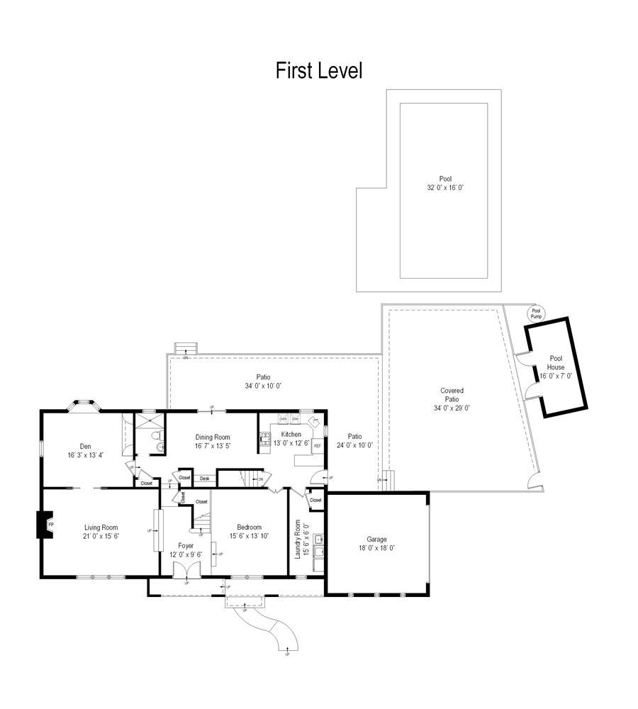 Floor plan of 5101 Beach 51st Street - Sea Gate, New York