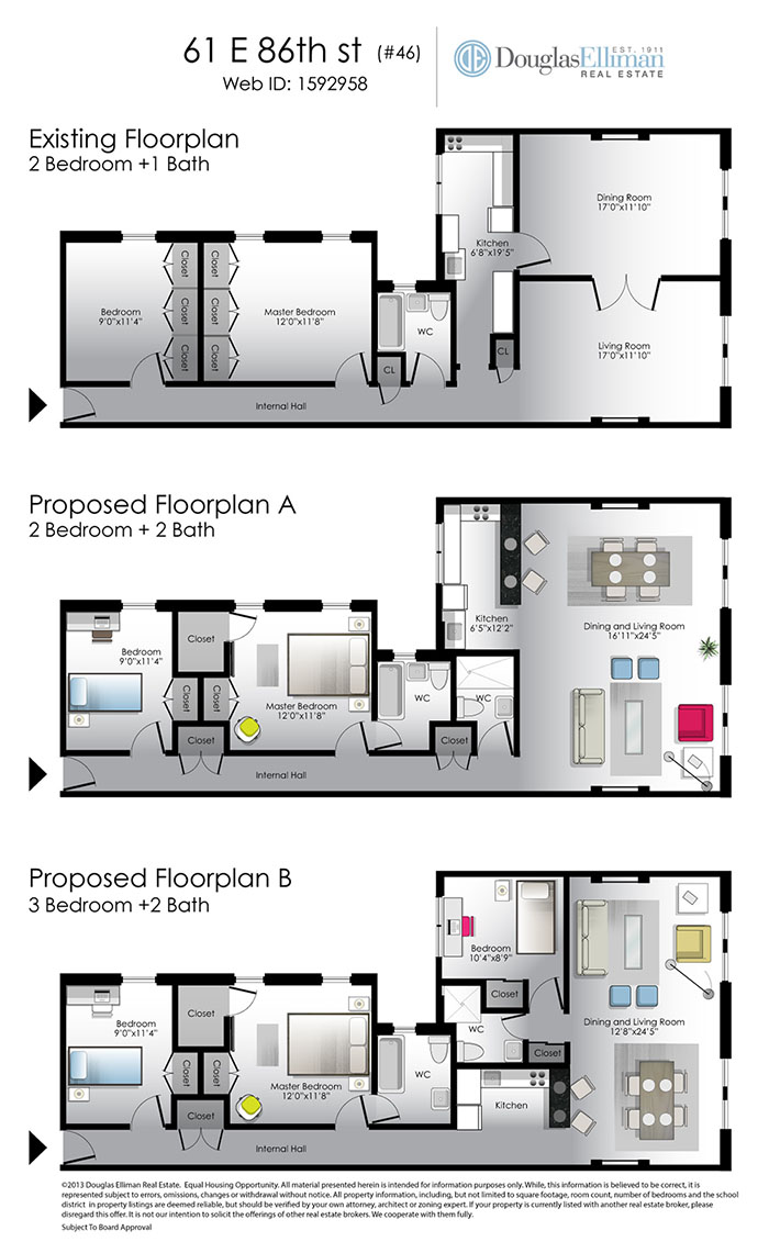 Floor plan of 61 East 86 Owners Corp., 61 East 86th Street, 46