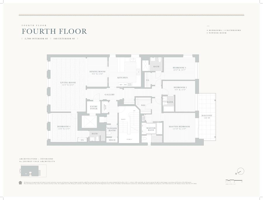 Floor plan of 320 East 82nd St, 4 - Upper East Side, New York