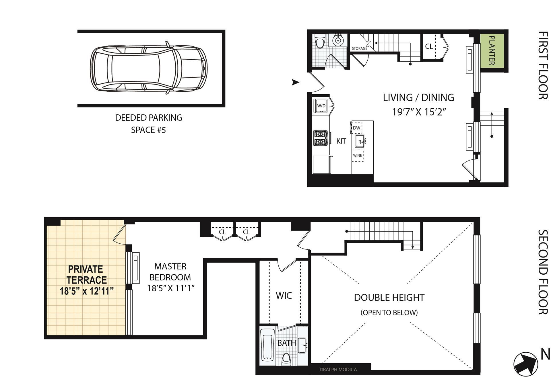Floor plan of 2-40 51st Avenue, TH1C - Long Island City, New York