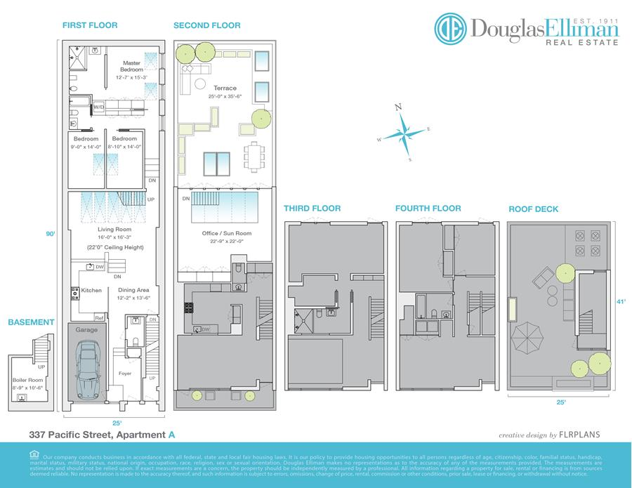 Floor plan of 377 Pacific St - Downtown Brooklyn, New York