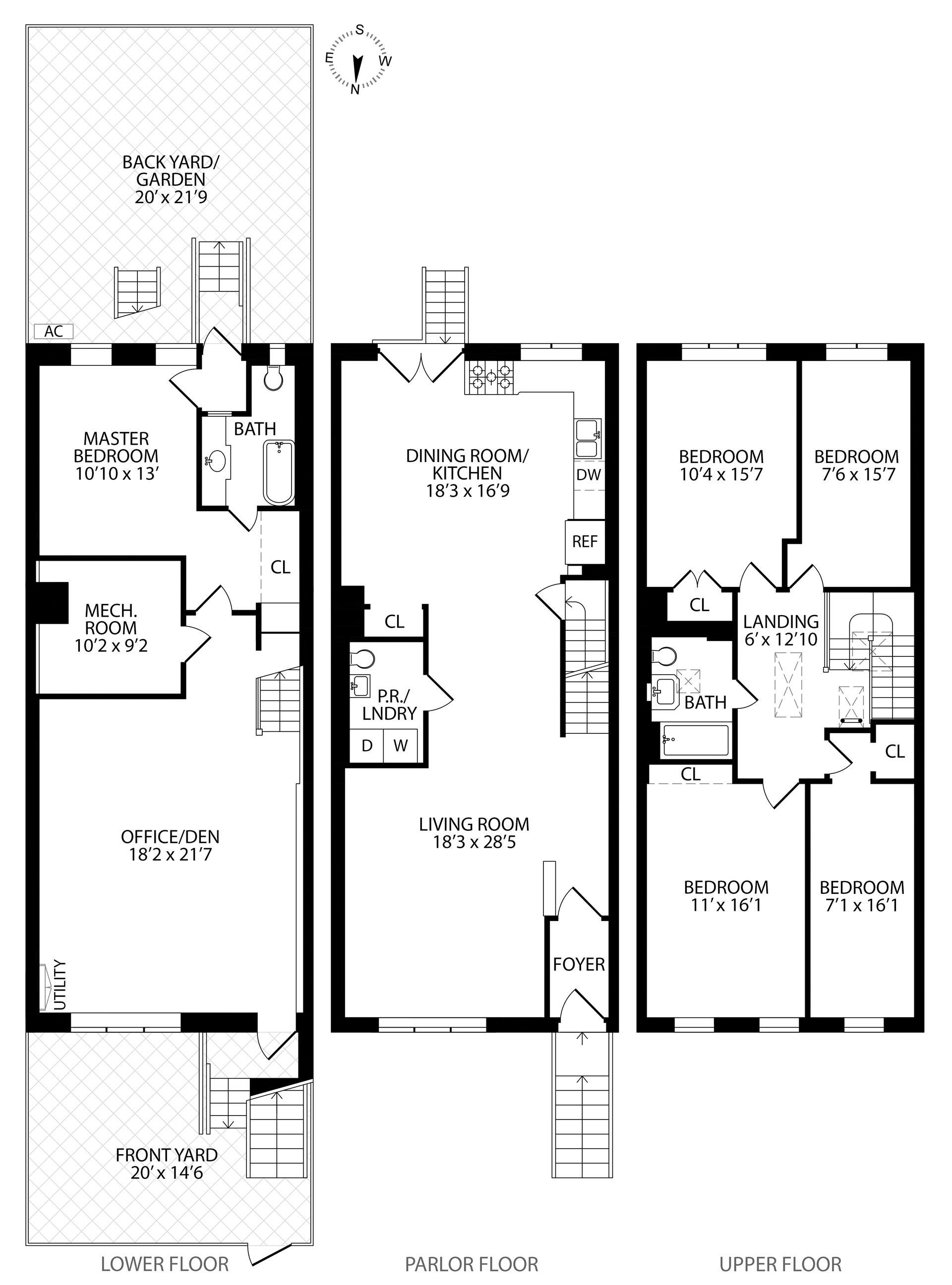 Floor plan of 76 Ten Eyck St - Williamsburg, New York
