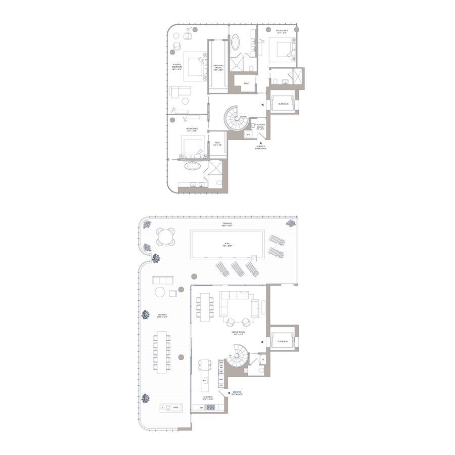 Floor plan of 565 Broome St, N16A - SoHo - Nolita, New York