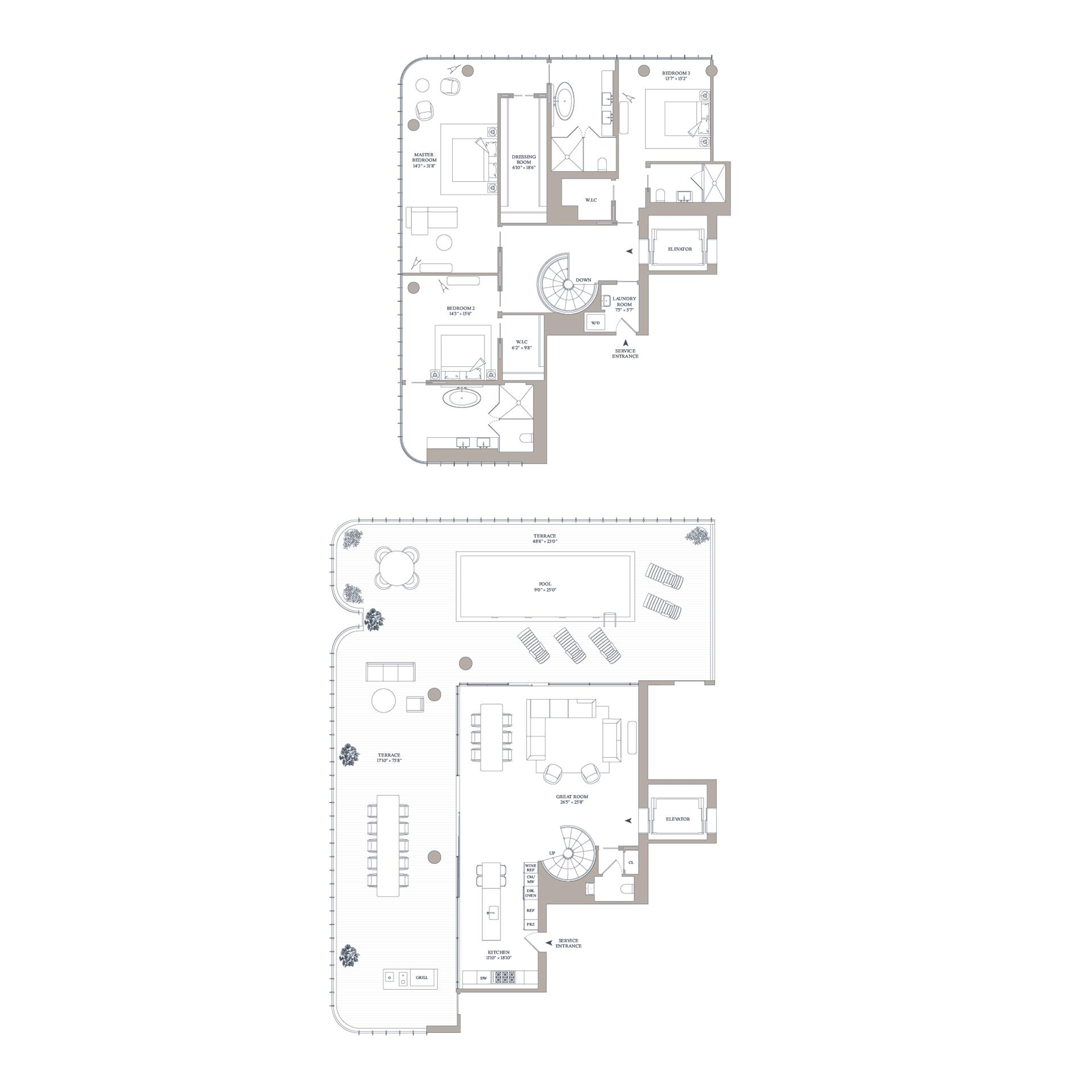 Floor plan of 565 Broome St, N16A - SoHo - Nolita, New York