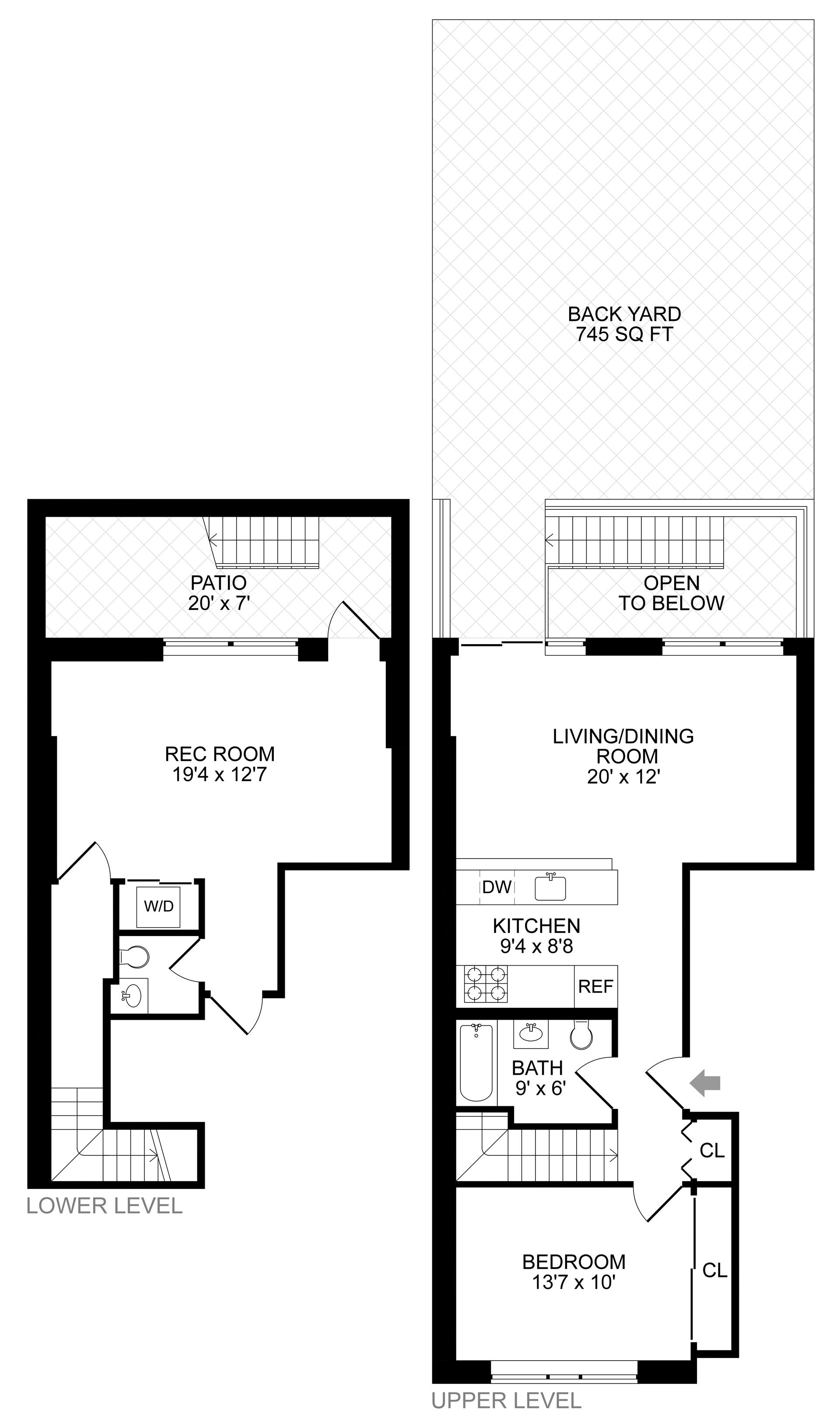Floor plan of 165 Taaffe Pl, 1 - Clinton Hill, New York