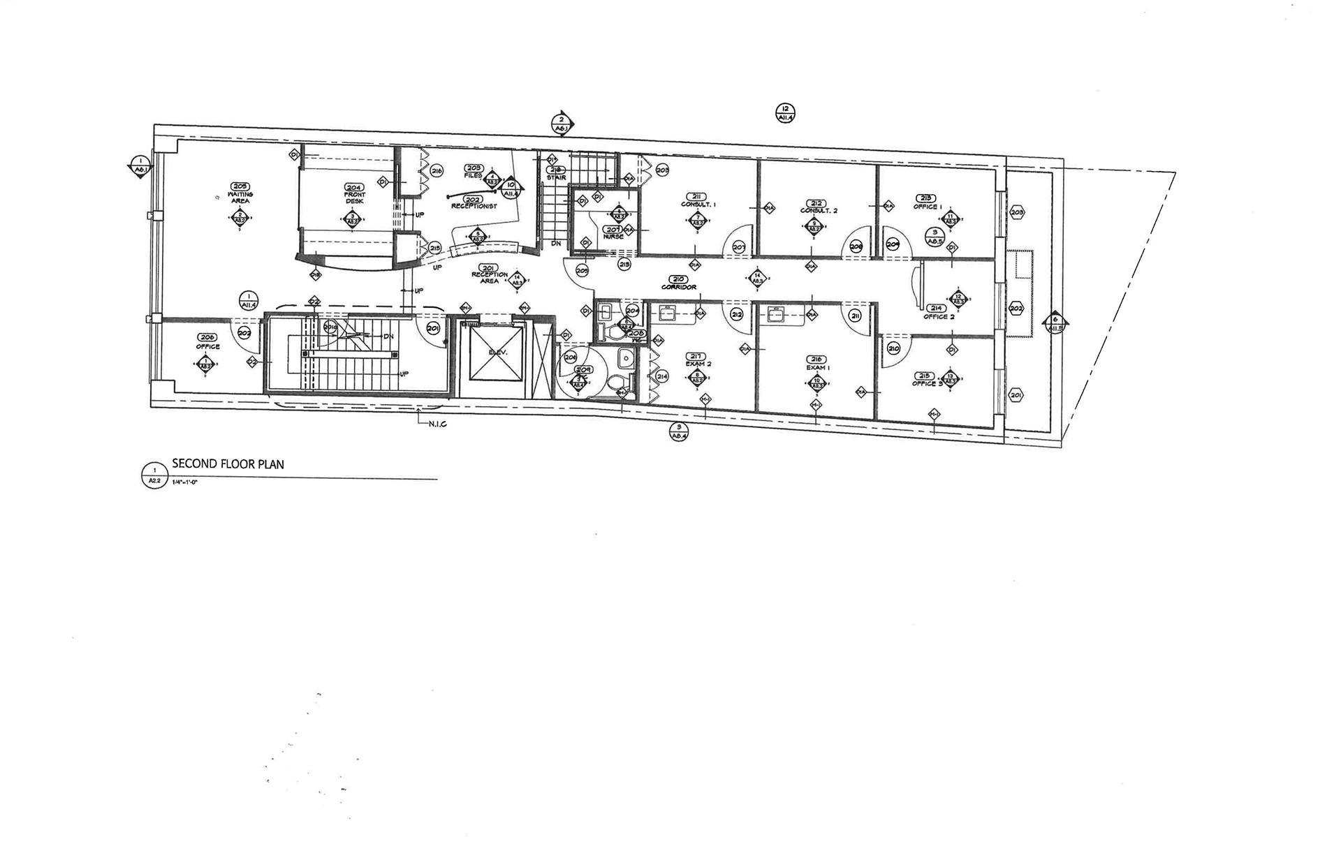Floor plan of 44 Hudson St - TriBeCa, New York