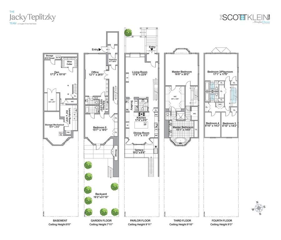 Floor plan of 878 PRESIDENT St - Park Slope, New York