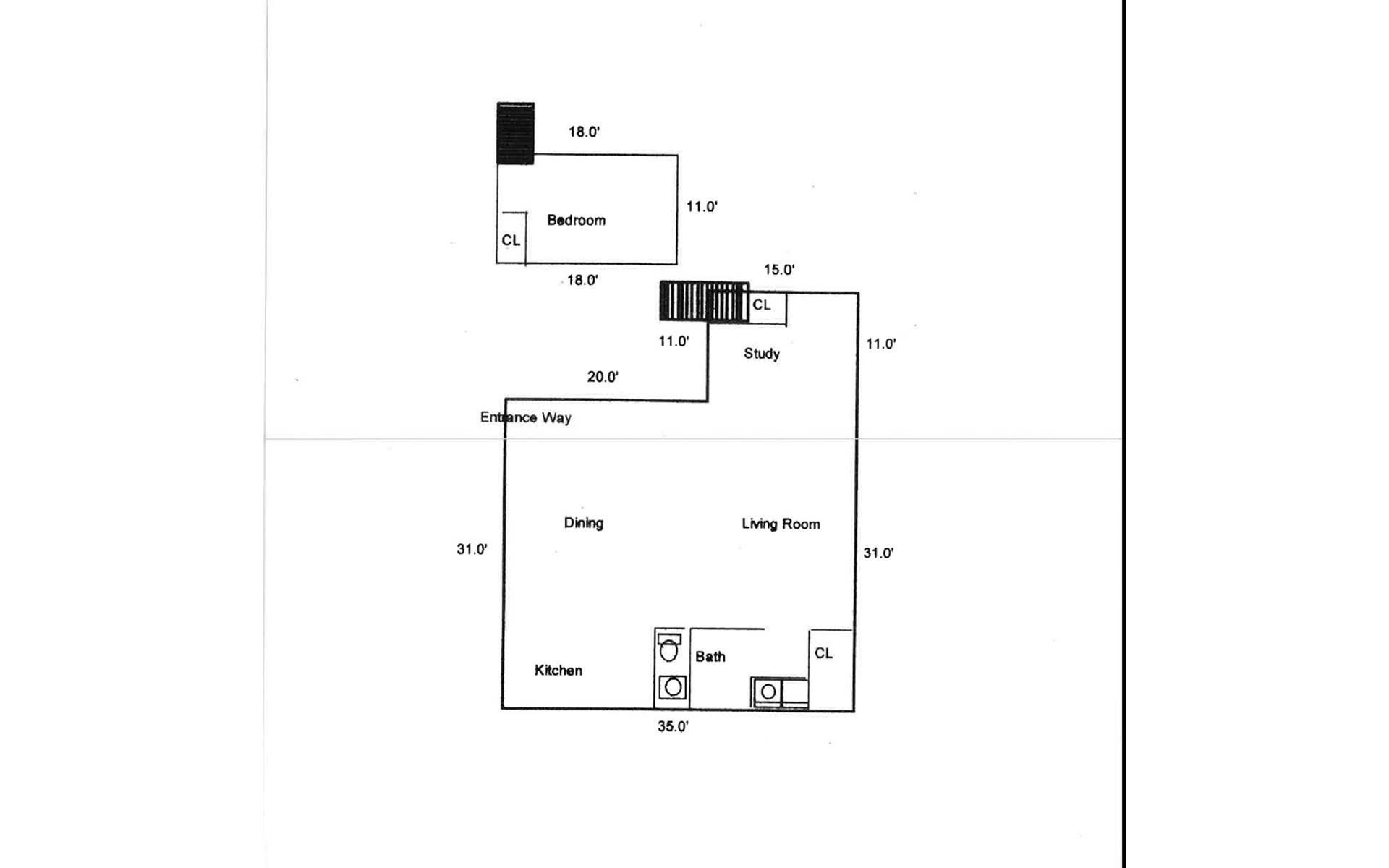 Floor plan of 68 Laight St, 4 - TriBeCa, New York
