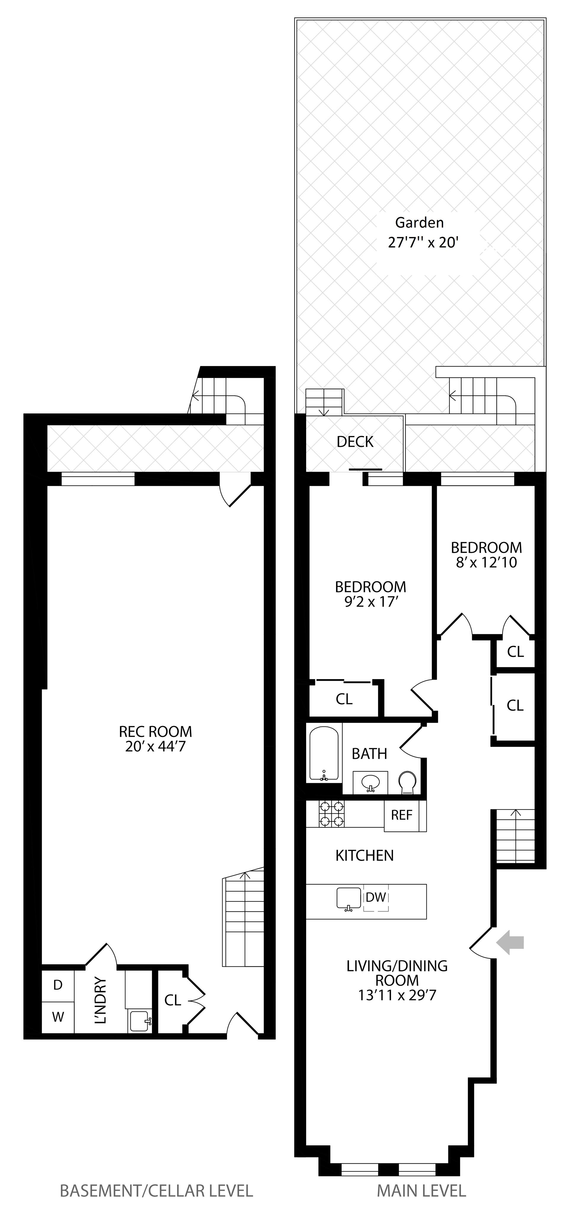 Floor plan of 770 Putnam Avenue, 1A - Bedford - Stuyvesant, New York