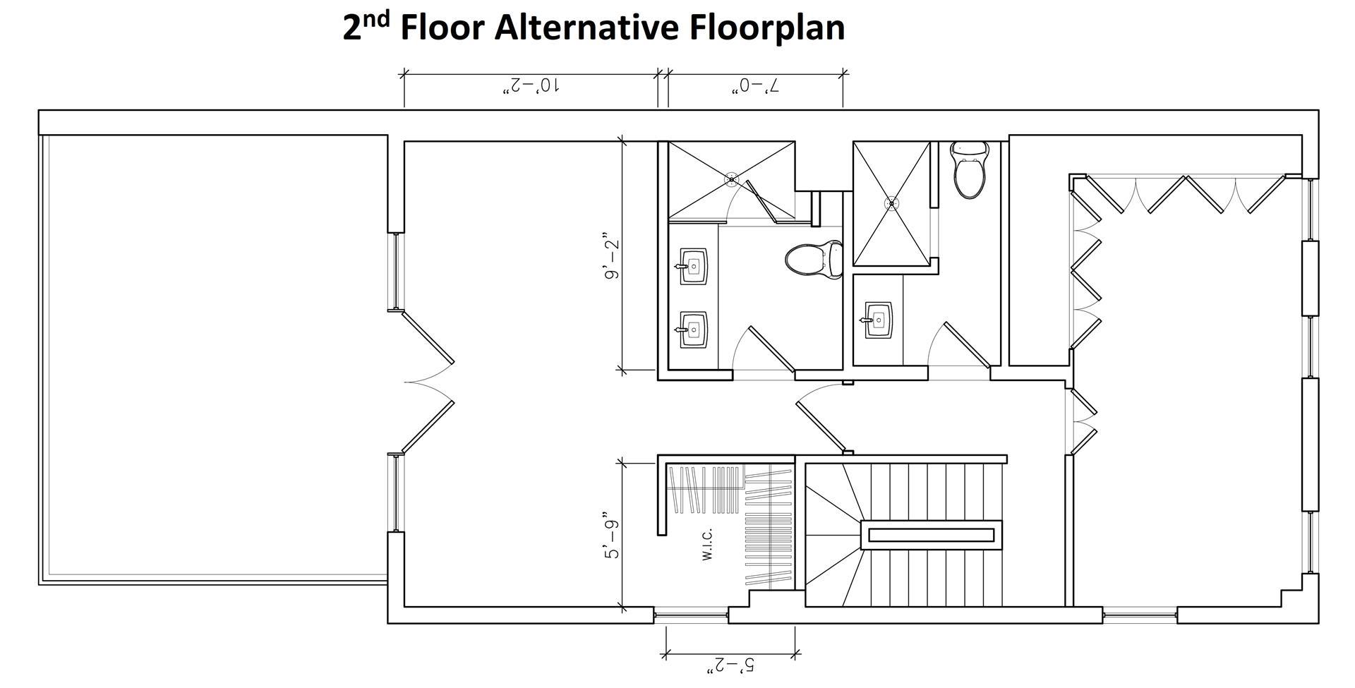 Floor plan of 514 Broome St - SoHo - Nolita, New York