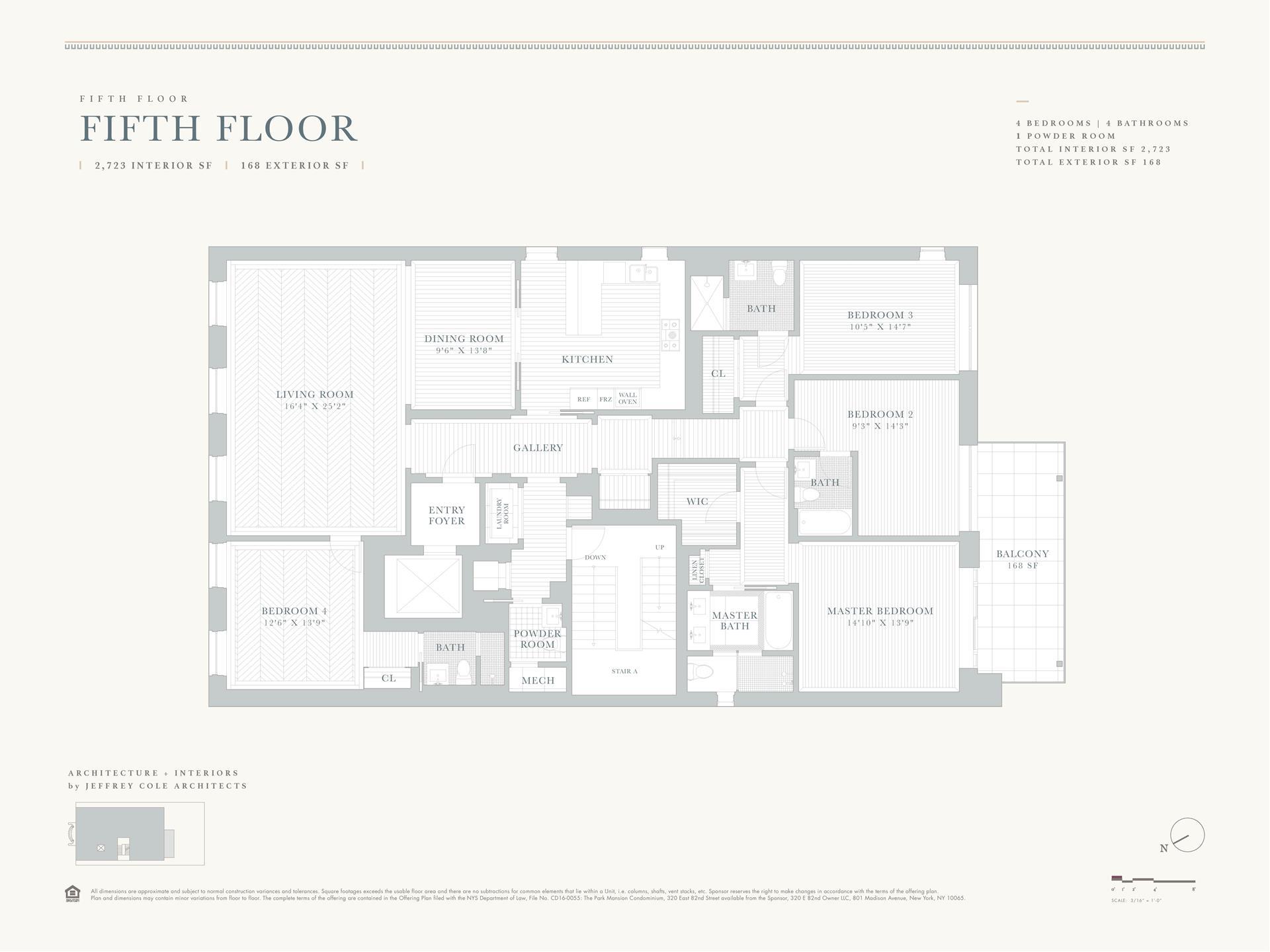 Floor plan of 320 East 82nd St, 5 - Upper East Side, New York