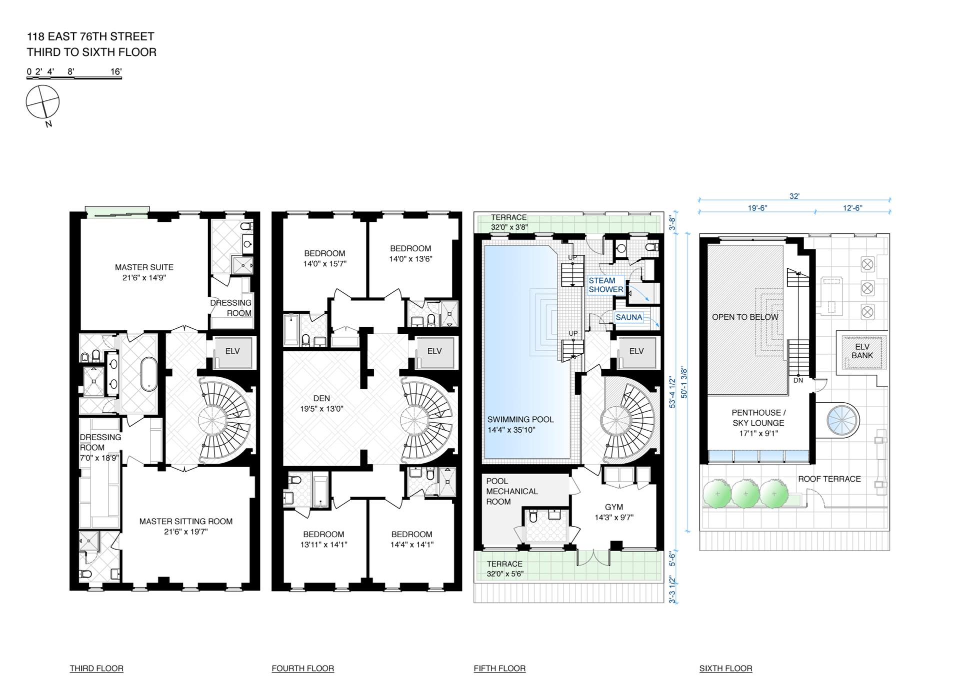 Floor plan of 118 East 76th St - Upper East Side, New York