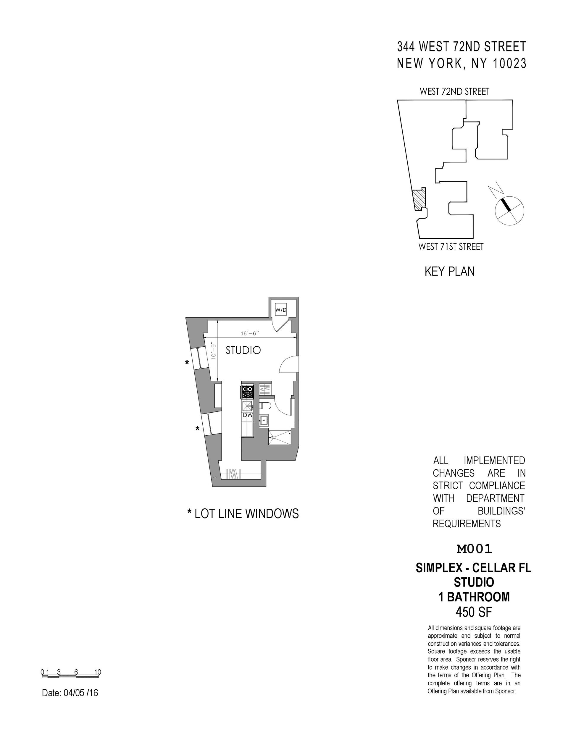 Floor plan of The Chatsworth, 344 West 72nd St, 3 - Upper West Side, New York