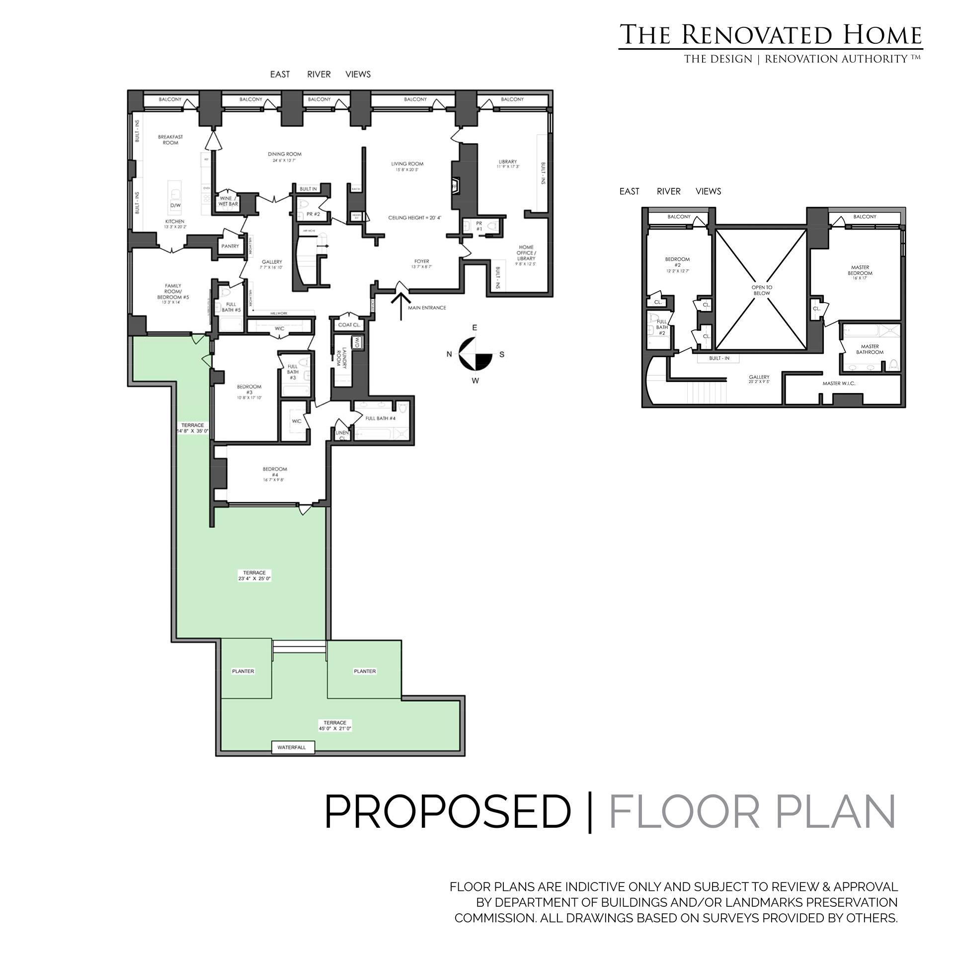 Floor plan of 170 East End Avenue, 8/9E - Upper East Side, New York