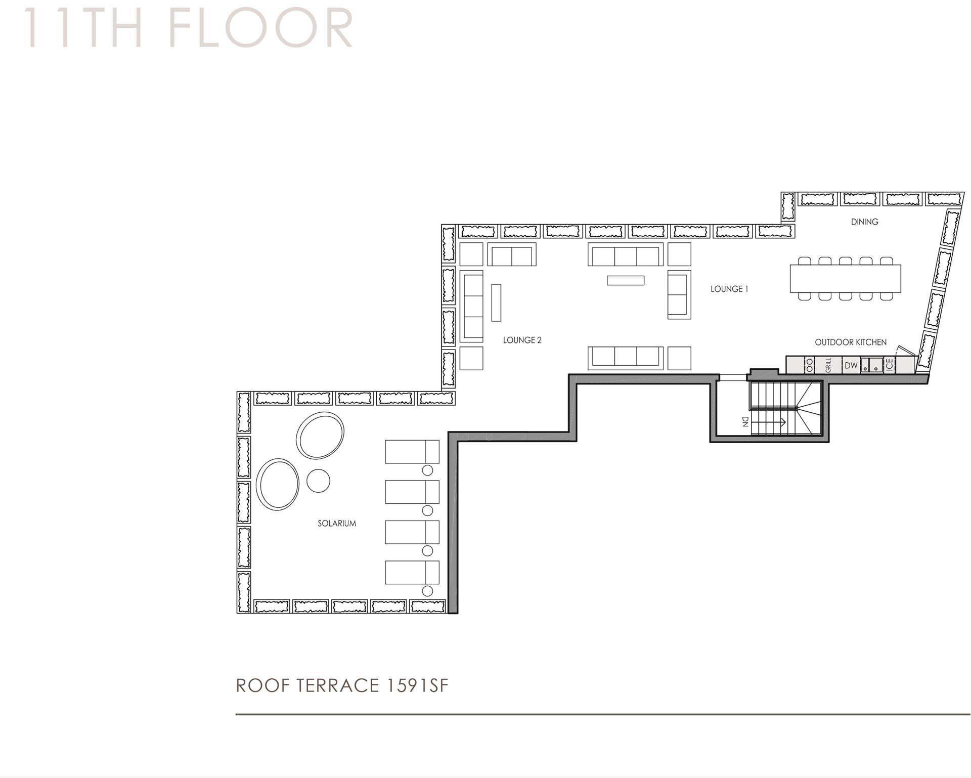Floor plan of 32 East 1st St, PHC - East Village, New York