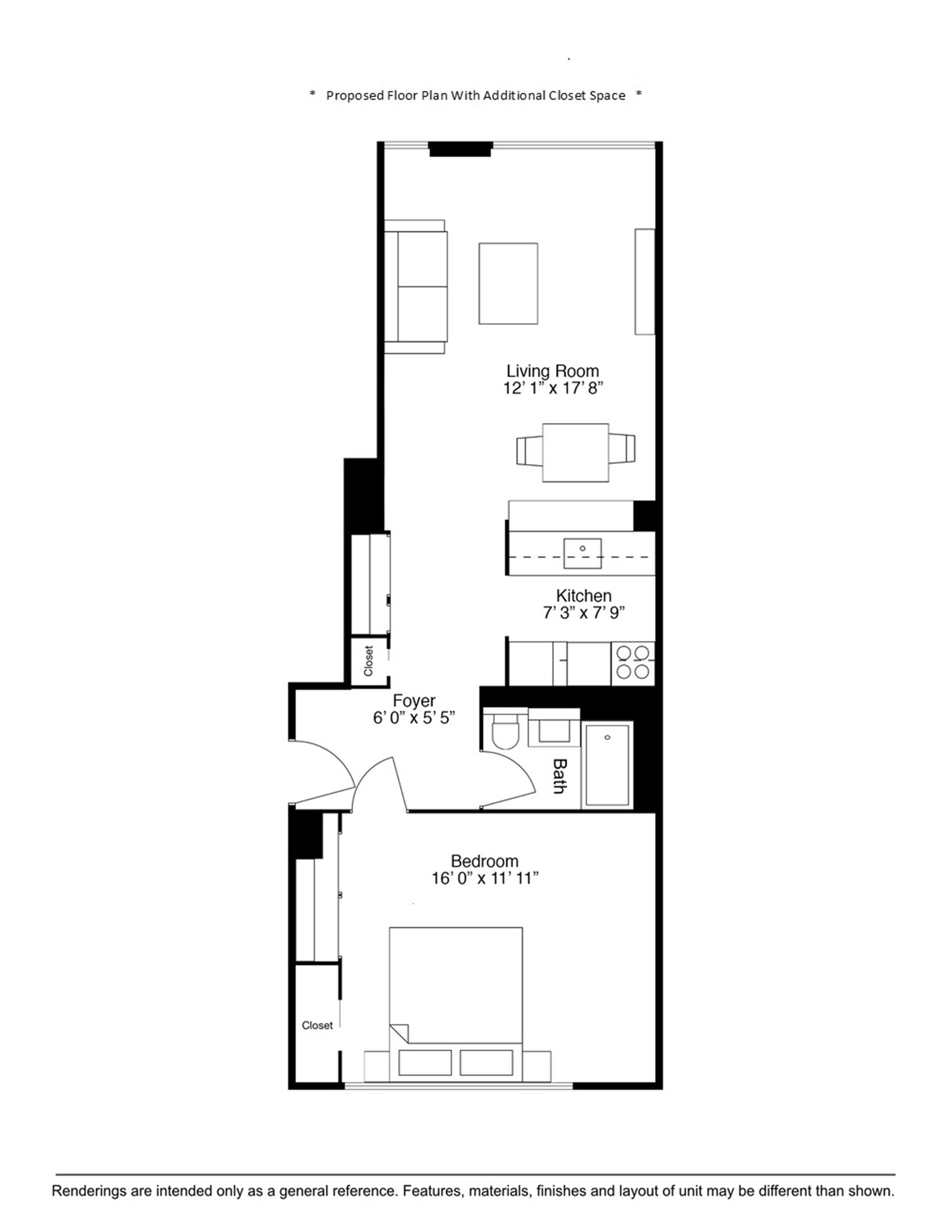 Floor plan of 400 East 90th St, 12F - Upper East Side, New York