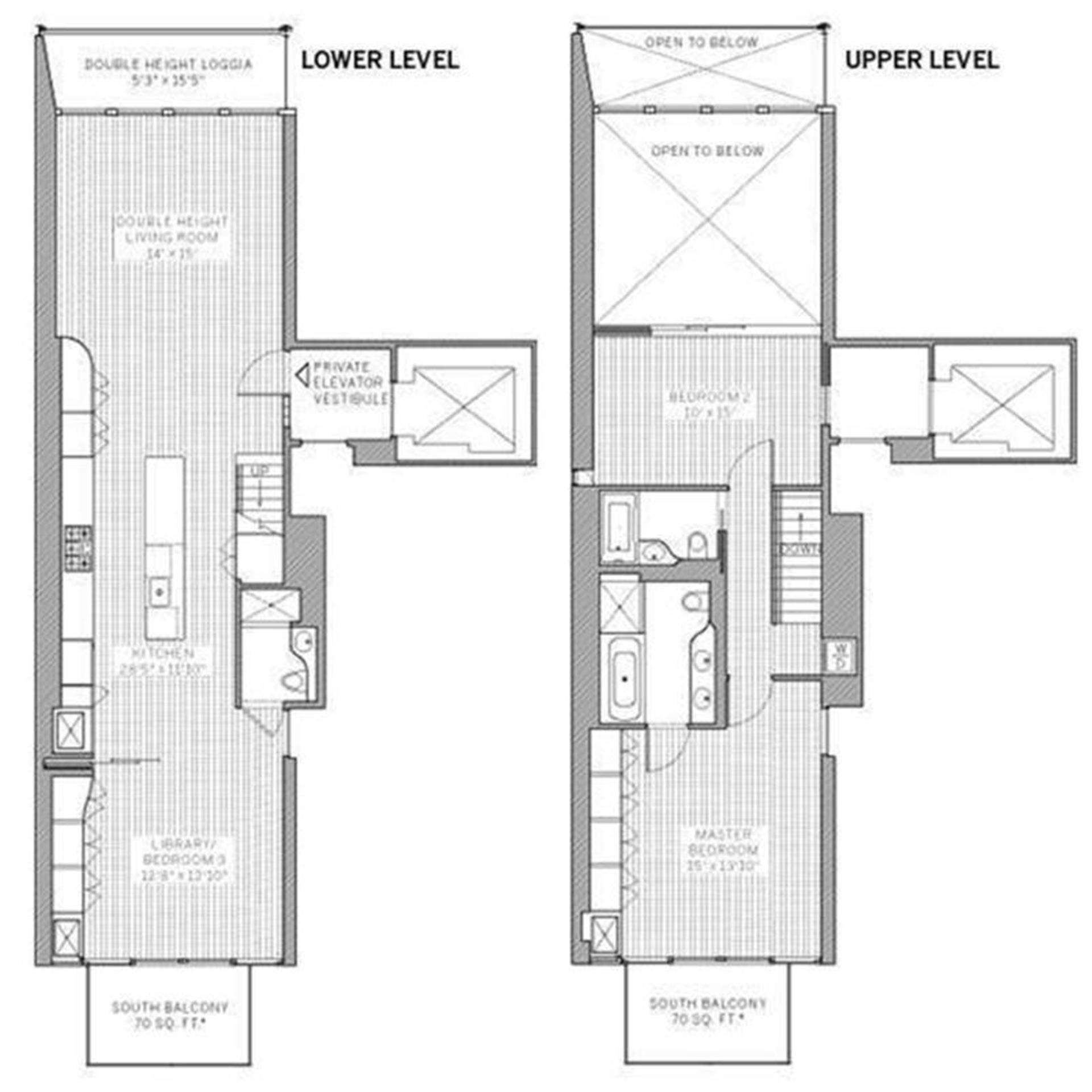 Floor plan of Metal Shutter Houses, 524 West 19th St, 7 - Chelsea, New York