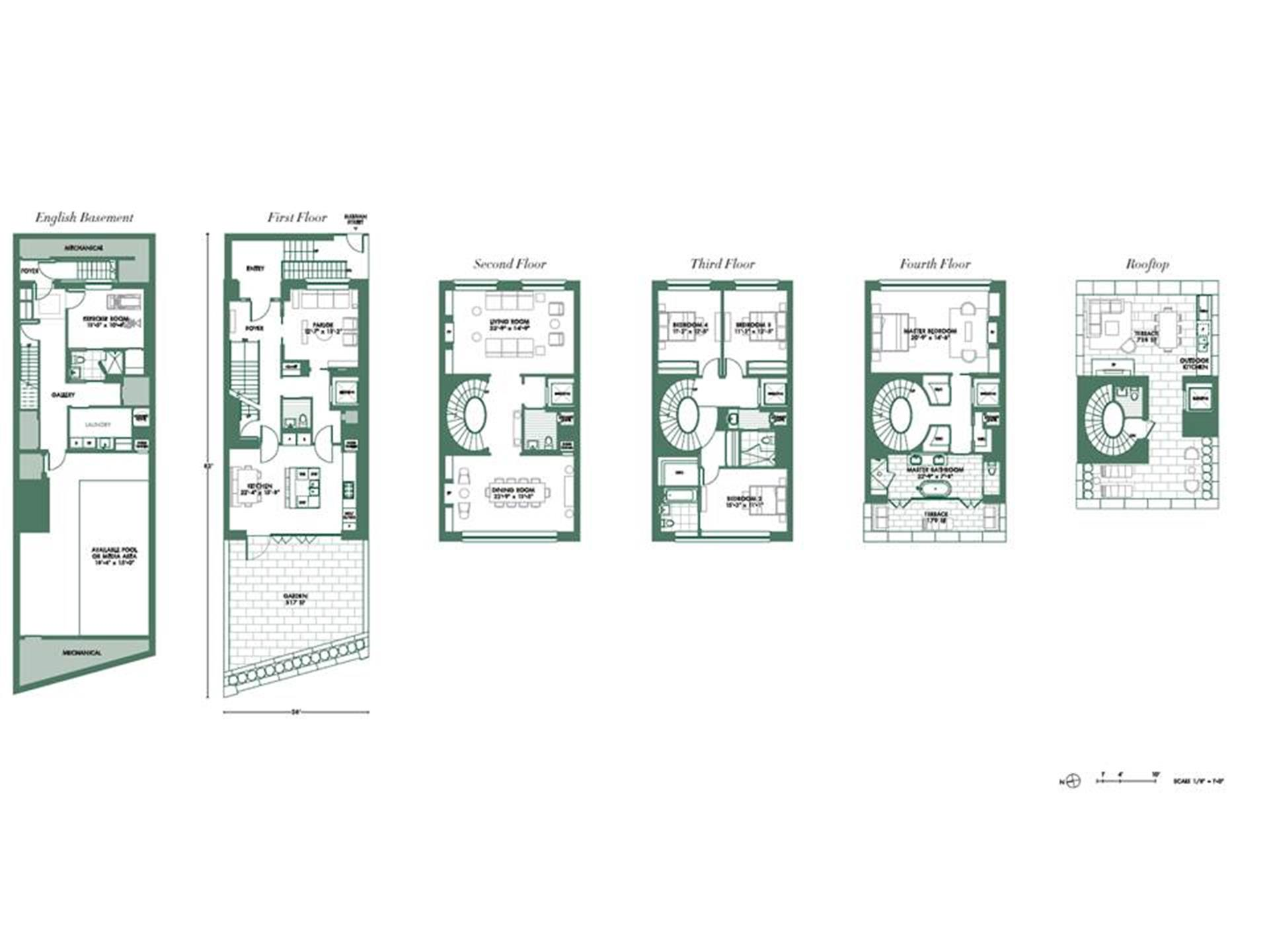 Floor plan of 30 Sullivan St - SoHo - Nolita, New York