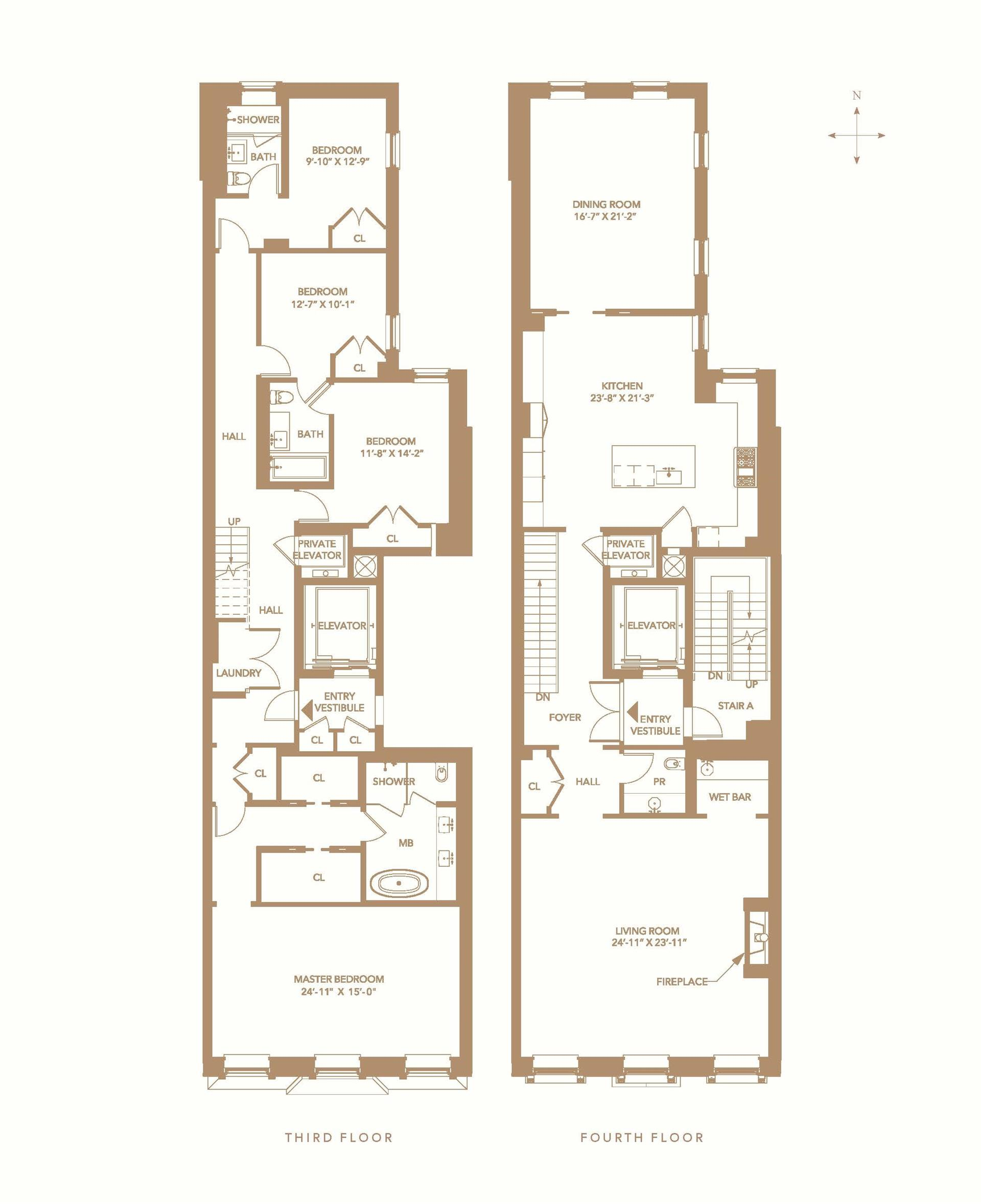 Floor plan of 39 East 72nd St, DUPLEX - Upper East Side, New York