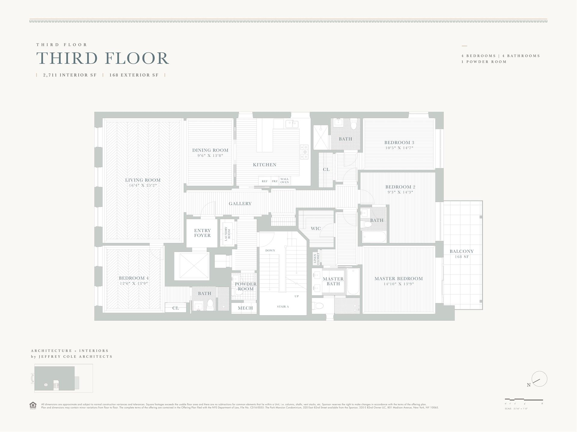 Floor plan of 320 East 82nd St, THIRDFL - Upper East Side, New York