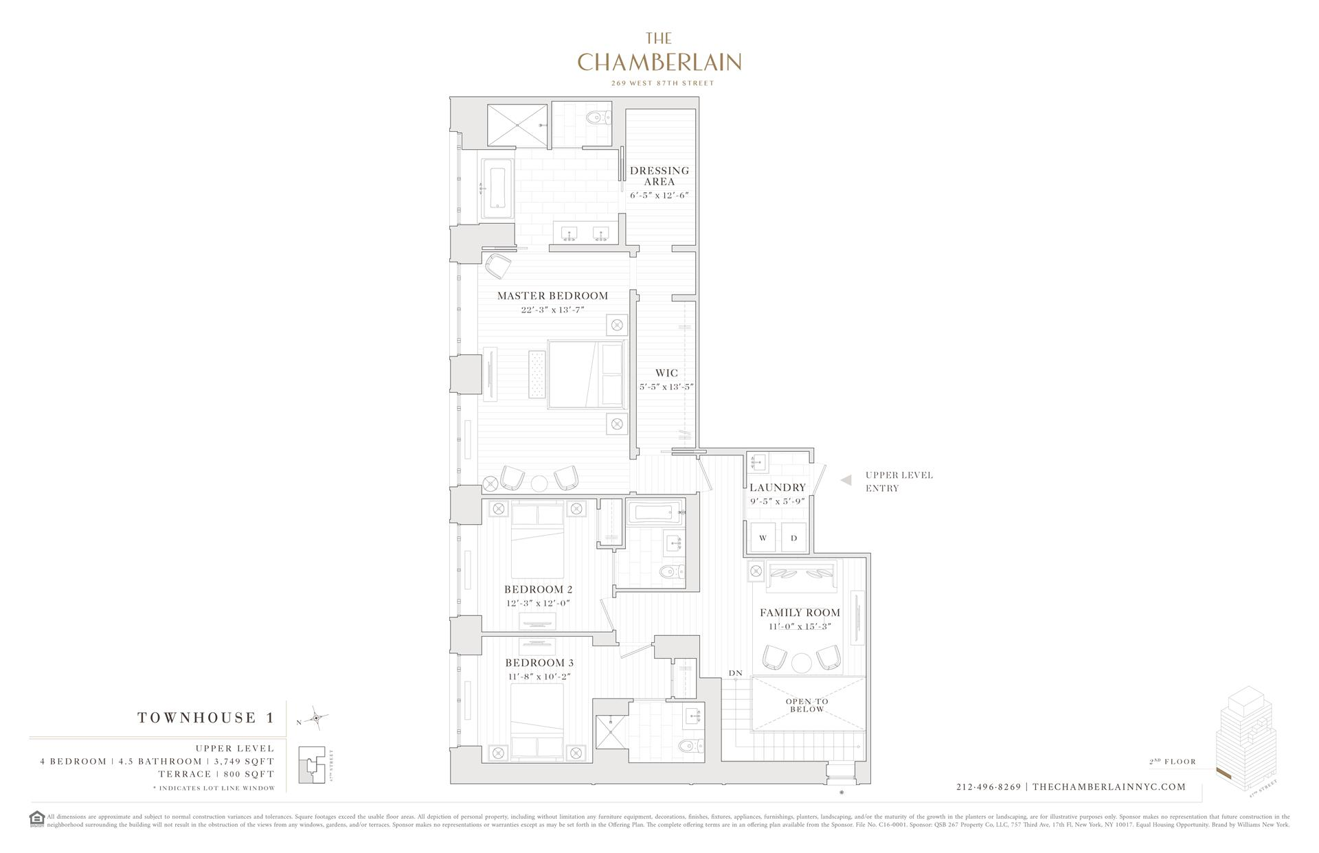 Floor plan of 269 West 87th St, TOWNHOUSE1 - Upper West Side, New York
